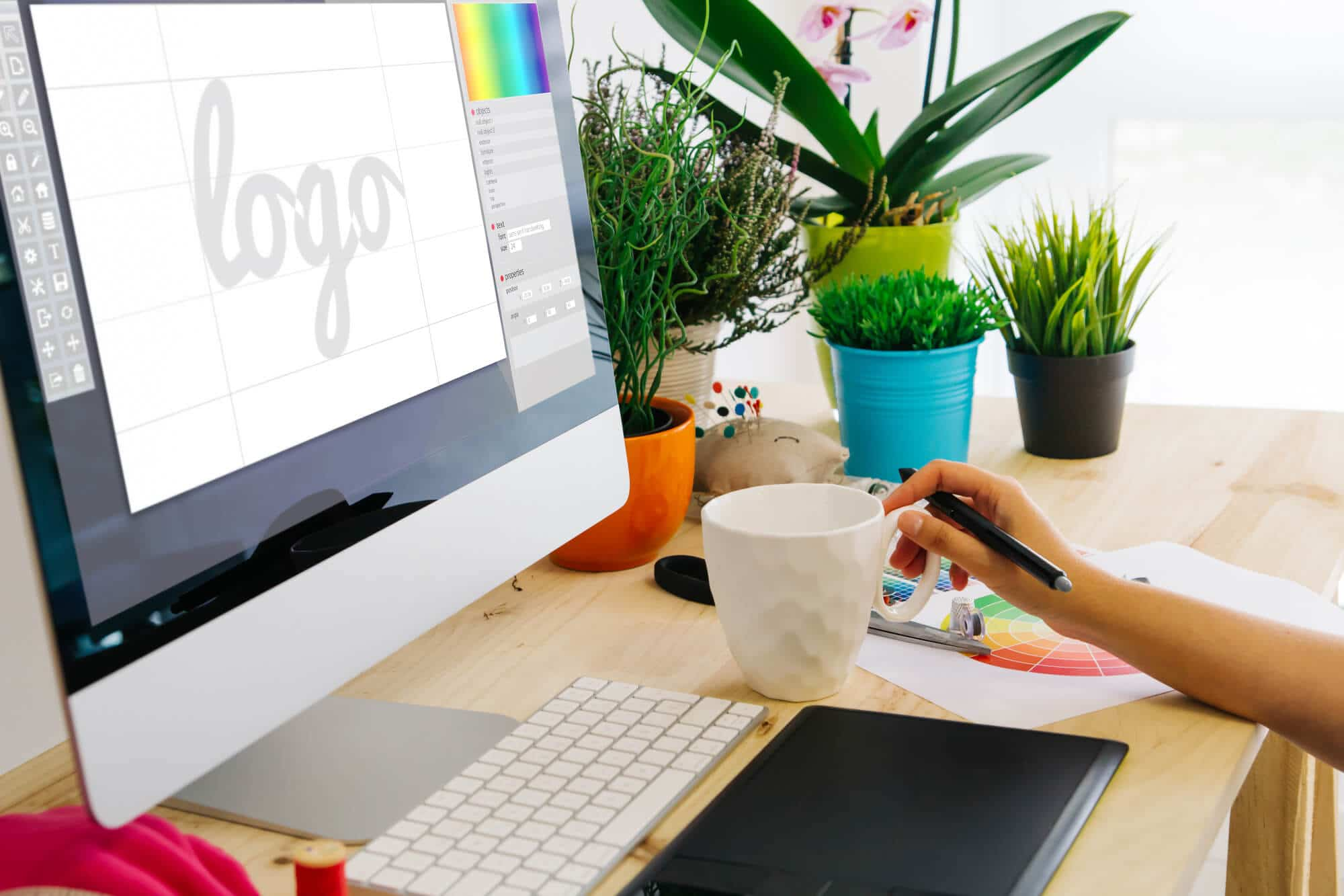 working for new logo design -Big Easy SEO