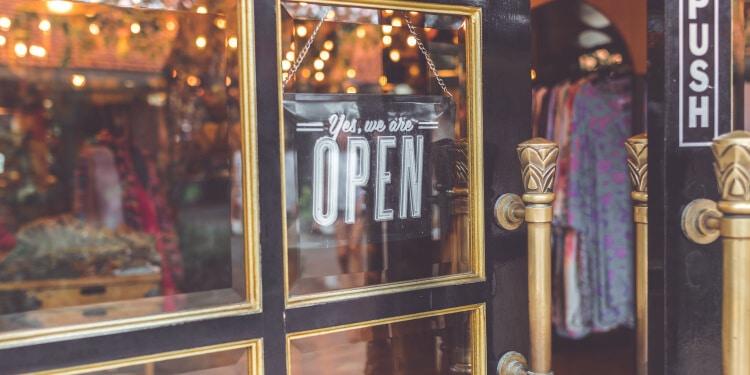 front door of a store - Big Easy SEO
