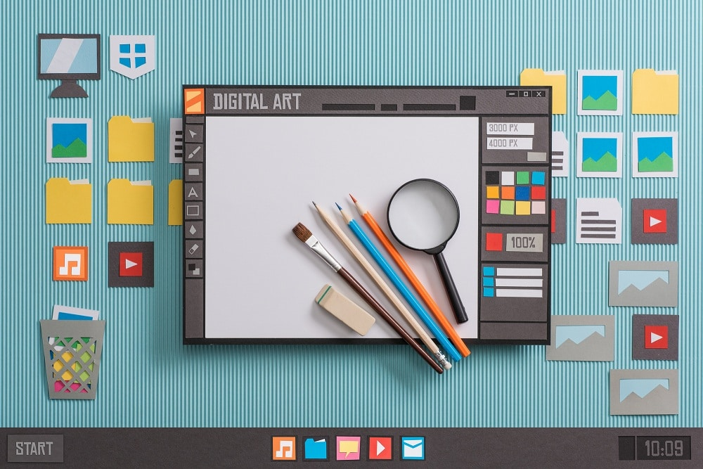 Graphic design software with real tools - Infintech Designs