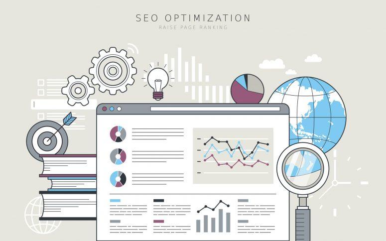 SEO optimization concept - Infintech Designs