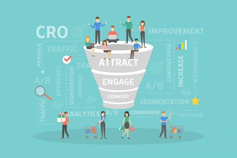 Cro concept illustration - Big Easy SEO