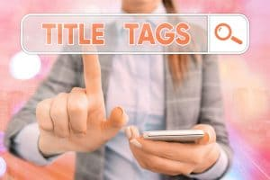 Handwriting text writing Title Tags - Big Easy SEO