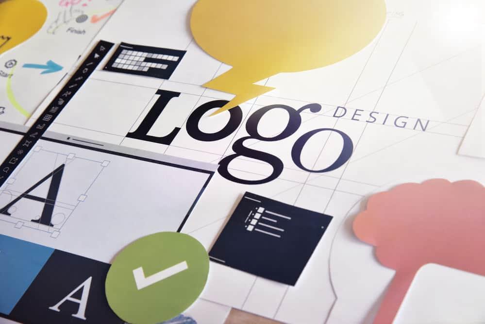 Logo design concept for graphic designers and design - Big Easy SEO