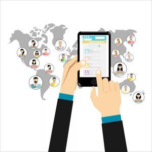 Social Network Concept. Flat Design Illustration - Big Easy SEO