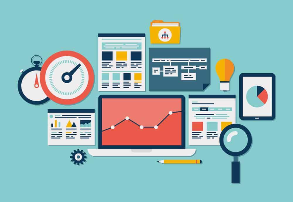 Website SEO and analytics icons - Big Easy SEO