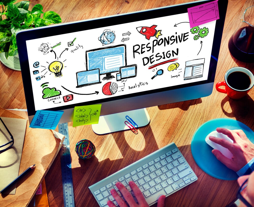 Responsive Design Internet Web Online Browsing Technology Concep