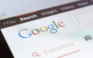 Close up of google page screenshot - Big Easy SEO