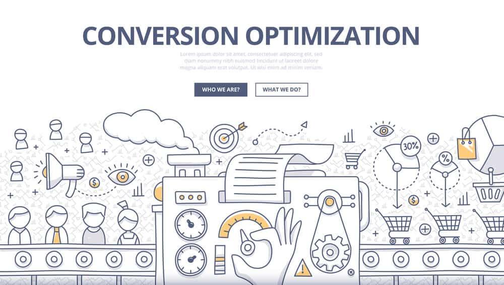 Conversion Optimization Doodle Concept - Big Eas SEO