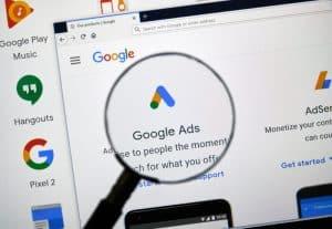 Google Ads logo - Big Easy SEO