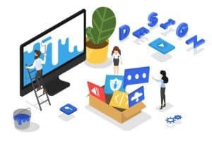 Responsive web design concept and website development - Big Easy SEO