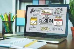 Web Design concept - Big Easy SEO