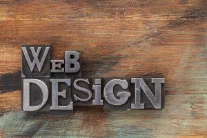 Web design in metal type blocks - Big Easy SEO